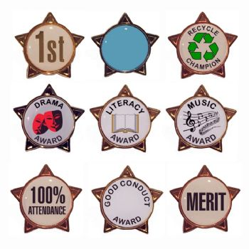 School Star Badges